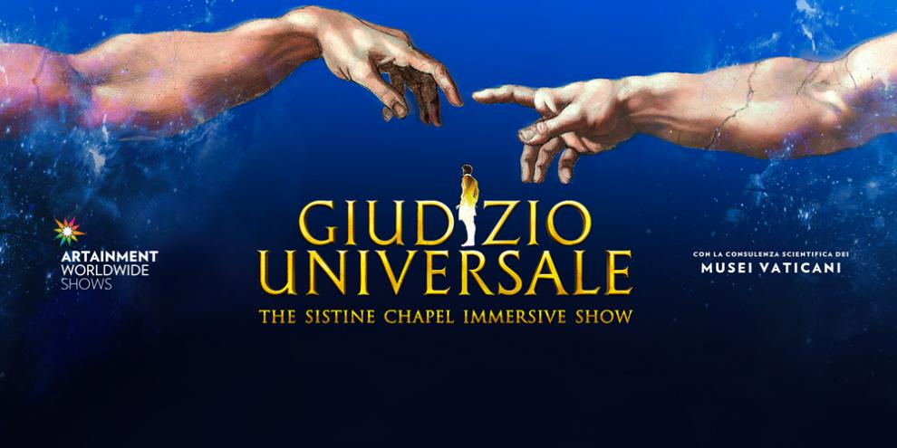 Usa lo sconto Loquis per vedere Giudizio Universale – The Immersive Show!