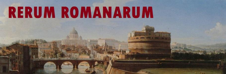 """Scopri Roma con """"Rerum Romanarum"""""""