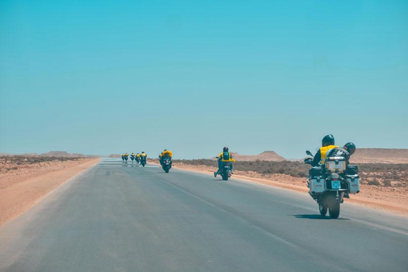 turismo itinerante moto