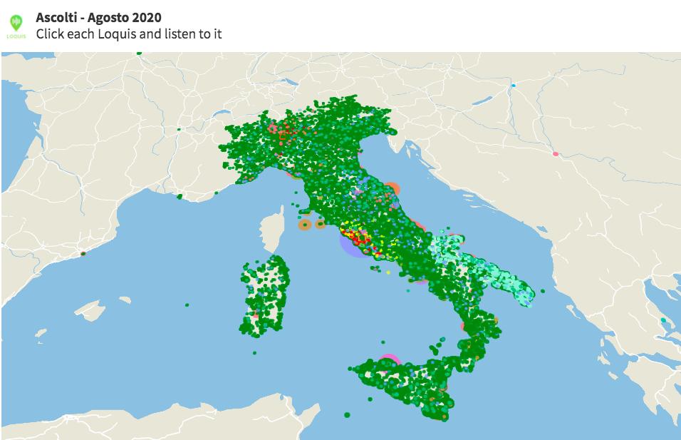 Agosto: alla scoperta d'Italia con Loquis