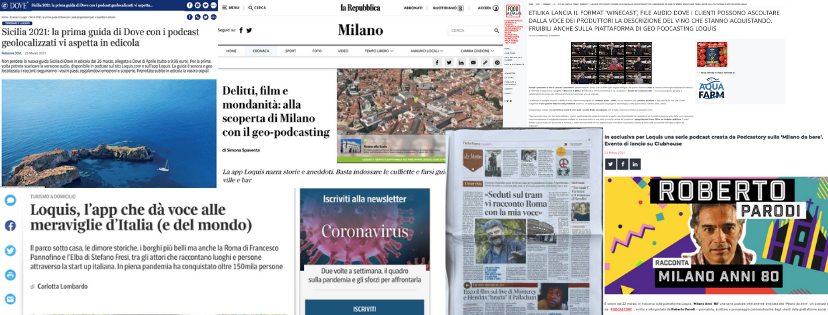 Rassegna Stampa – Marzo 2021